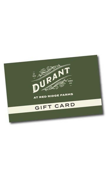 Digital Durant Gift Card