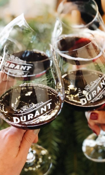 Durant Vineyards Oregon Pinot Noir Glass