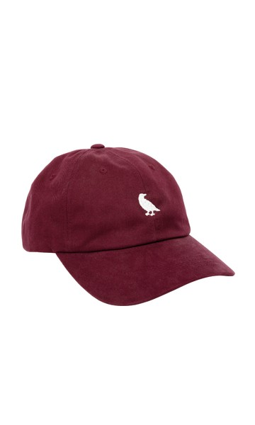 Durant Cotton Hat: Burgundy