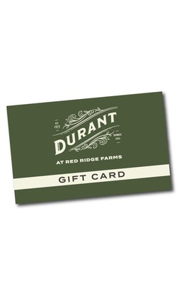 Durant Gift Card