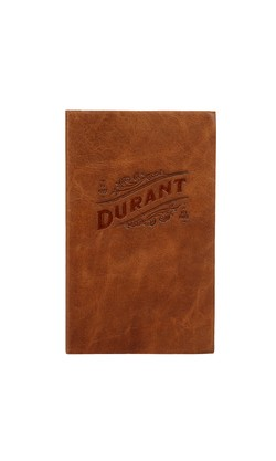 Durant Leather Bound Notebook